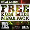 FREE EDM MIDI Mega Pack