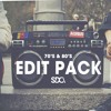 70's & 80's Edit Pack Vol 1 [FREE DOWNLOAD]