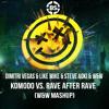 Komodo vs  Rave After Rave (W&W Mashup)