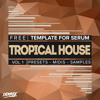Free Tropical House Template For Serum